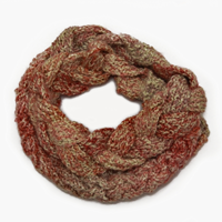 Chunky knit scarf: Its beautiful pattern and texture will take your outfit to the next level with minimal effort on your part.