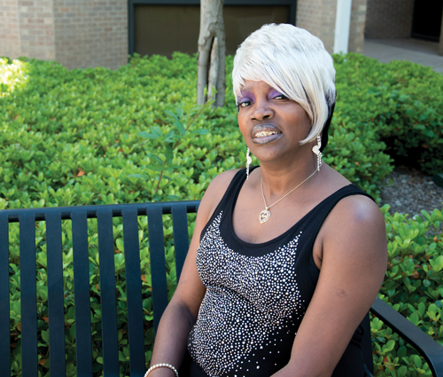 Charlesetta Garrett decided to take control of her life after battling a life of drug use and prostitution. Now she wants to counsel others who face the same challenges. Photo by Ana Gallegos/The Et Cetera.