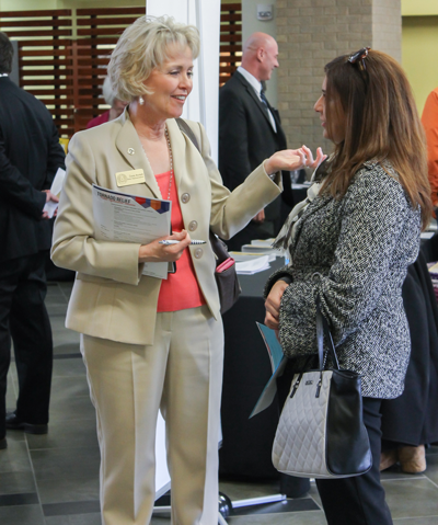 State Representative Cindy Burkett. Photo by Alejandra Rosas/The Et Cetera.