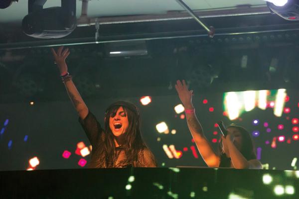 Krewella performs at a rave in Dallas. David Sanchez/The Et Cetera