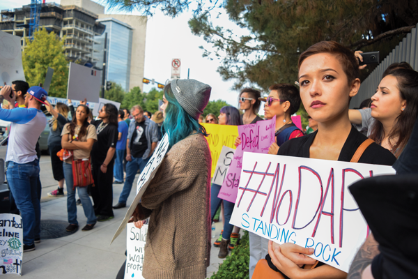 Generations stand together to protect native land