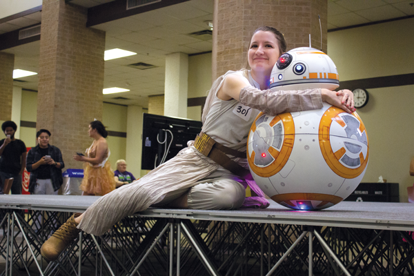 Professor goes from Kirkatron to BB-8 droid