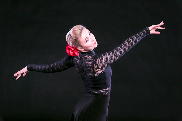 Life in one-eighth time: Dancer's passion fuels her goals