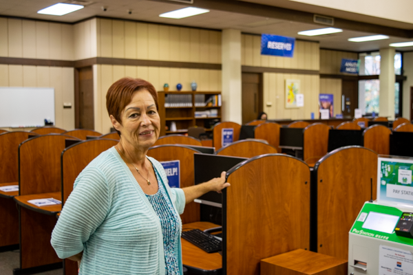 Q&A: Librarian reflects on challenges, successes of Eastfield career
