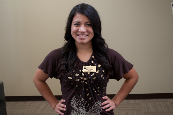 Ana Chavez is serving her first term as president of the Student Government Association.