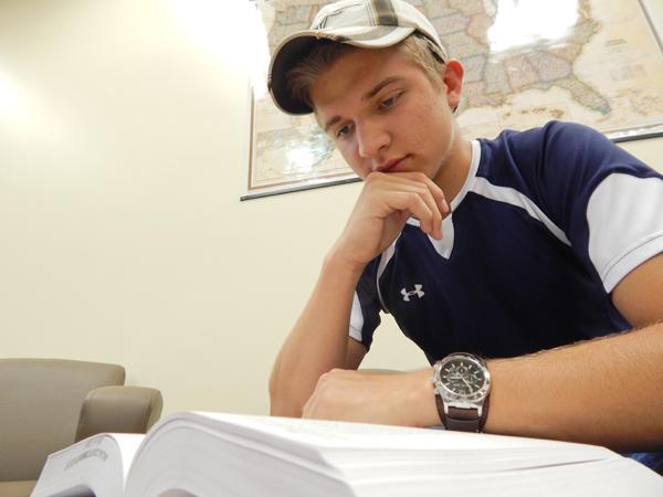 Rough Rider: Student overcomes life's hurdles