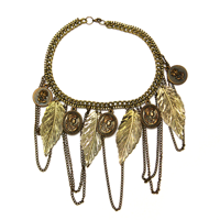 Gold chains: Whether you like flashy or simple, you definitely want to pair them with your outfit.