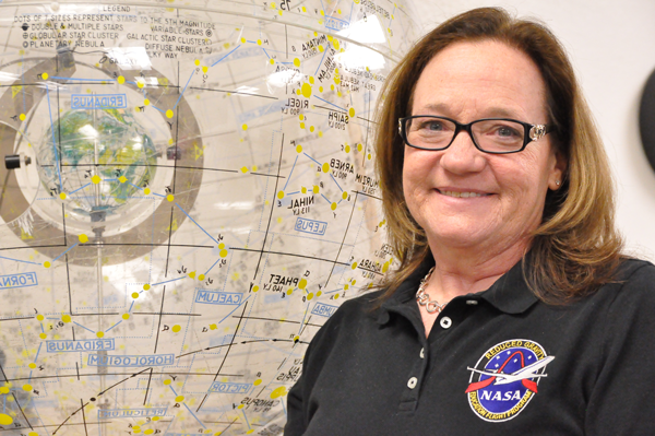 Dr. Kendra Wallis, the astronomer and girls' advocate. Photo by Braulio Tellez/The Et Cetera.