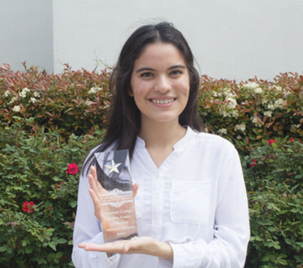 Active student earns campus leadership award