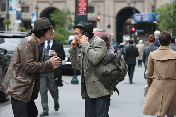 Adam Driver and Ben Stiller play Jamie and Josh in the comedy While Were Young.Photos courtesy of IAC Films.