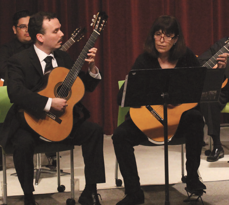 6-string professor shows classic skill