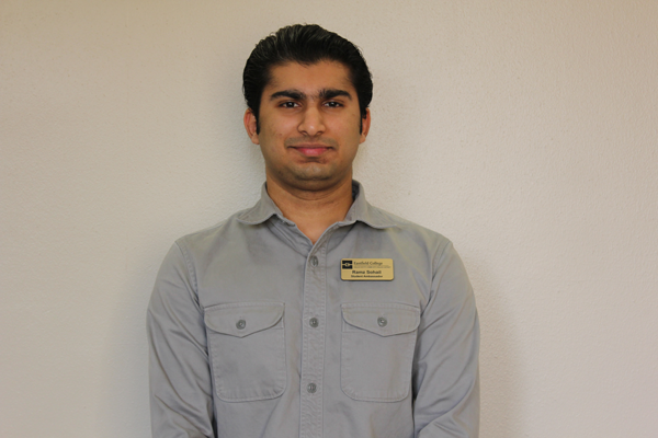 Rameez Sohail, Eastfield international business, was elected president of the Texas Junior College Student Government Association