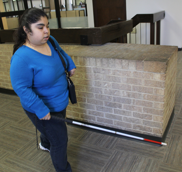 Disabled students navigate college life