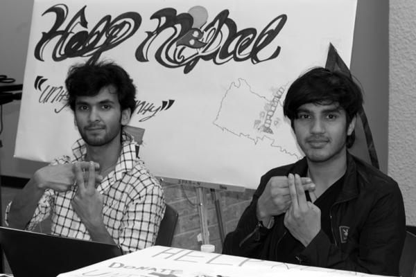 Eastfield promotes awareness, rallies behind Nepal
