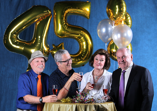 Charter faculty celebrate 45 years