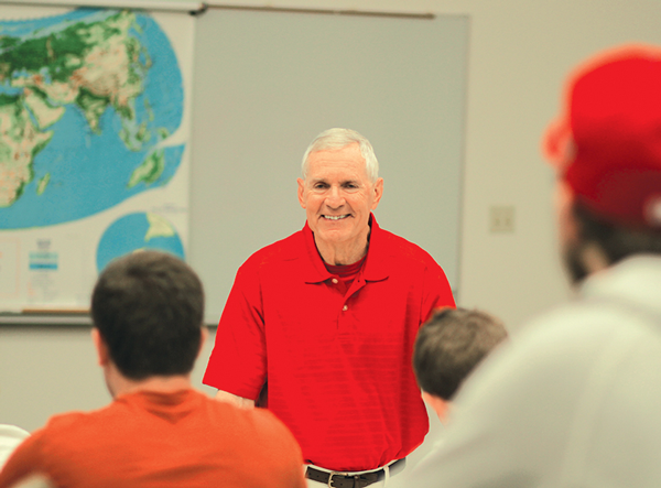 Retired charter professor dies