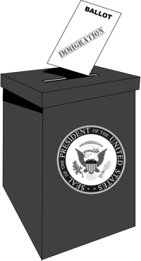 Immigration tops list of presidential election issues