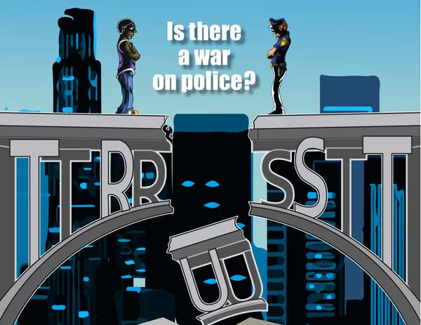 Police, community relationships strained