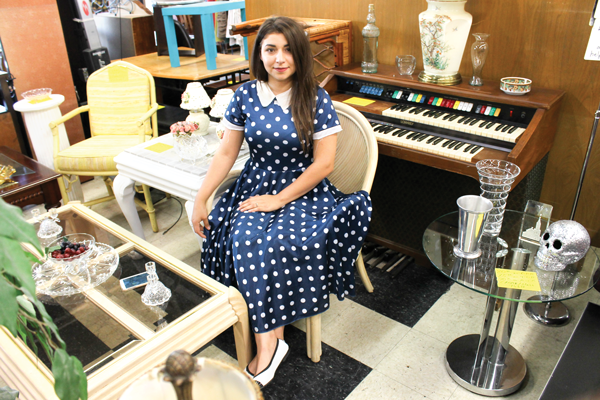 Thrift stores offer affordable student fashion