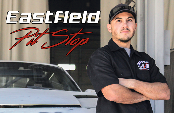 Student races to the Eastfield repair shop