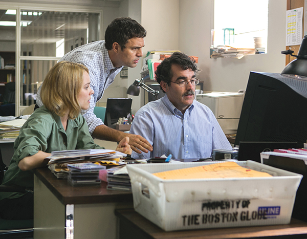 Movie review: 'Spotlight's' journalism tale shines