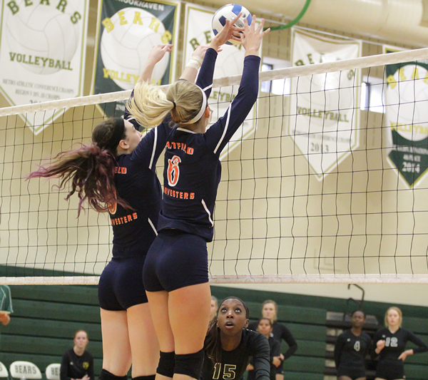 Volleyball season ends in 3-0 loss to Brookhaven