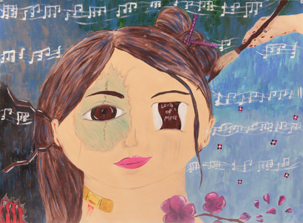 Student work fills two art galleries