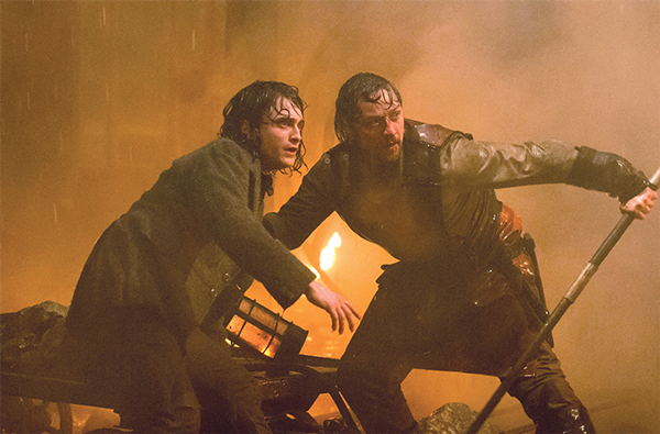 Review: 'Victor Frankenstein' breathes new life into classic thriller