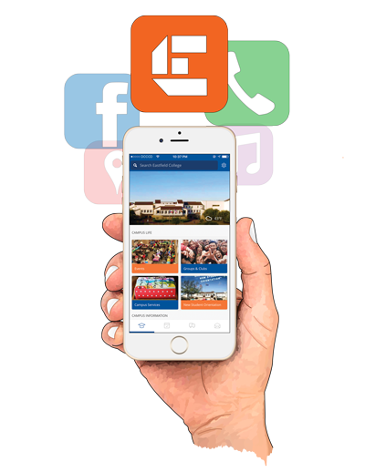 Eastfield app improves college communication