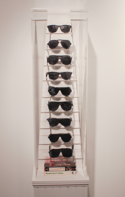 """""""Three Stage Prescription Sunglasses"""" by Jason Sherry. Photo by Luis Gonzales/The Et Cetera."""