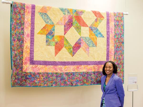 Quilts represent history