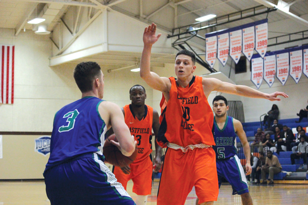 Harvesters take lead in conference without star