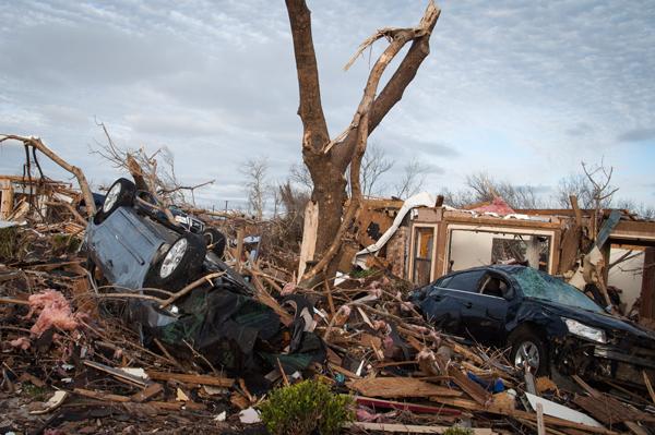 Tornado survivors recount devastating night, look toward future