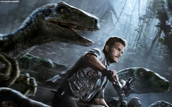 The depiction of a Velociraptor made famous by