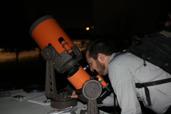 STEM showcases a number of astronomy offerings, on March 3, including a lecture on gravitational waves and  stargazing. PHOTO BY ISABEL ESPINOZA/THE ET CETERA