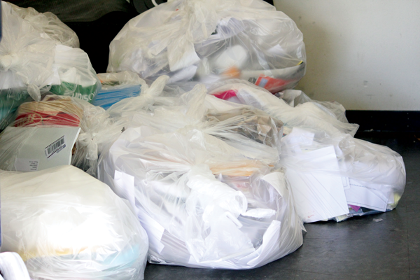 Wasted effort: College officials promise to fix recycling mix-up