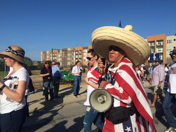 Trump rally spurs protests in Dallas