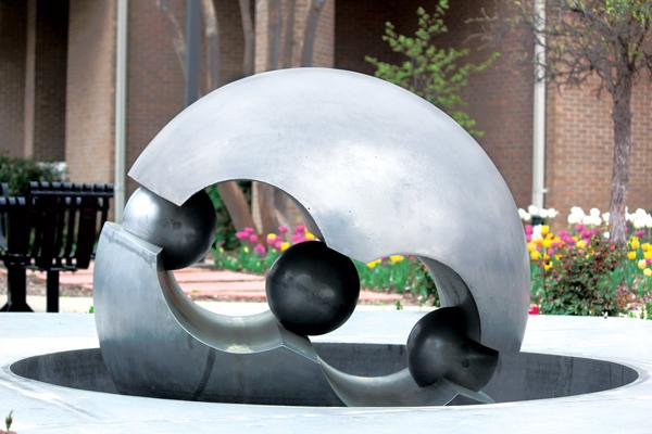 Campus art collection creates 'mini-museum'
