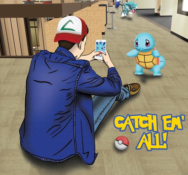 Pokemon invade Eastfield