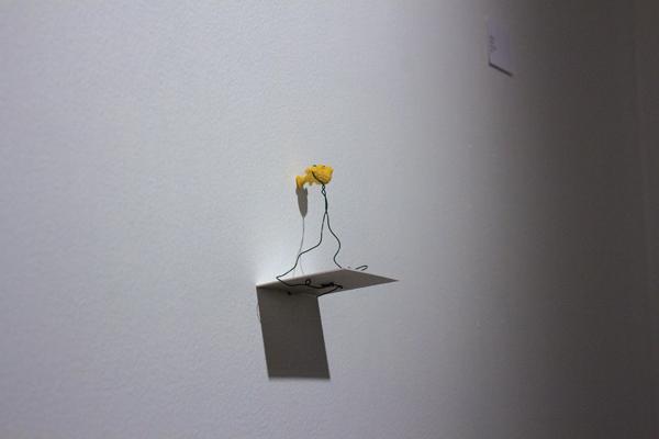 "Tara Olson/The Et Cetera Rachel Fischer's ""Lagoon"" is on display."