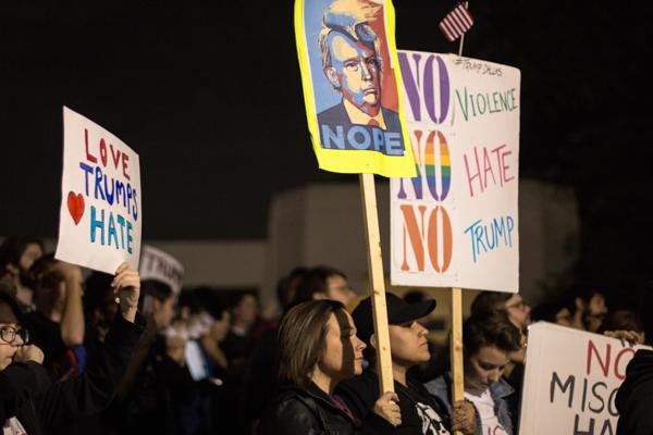 Anti-Trump protests continue in Dallas