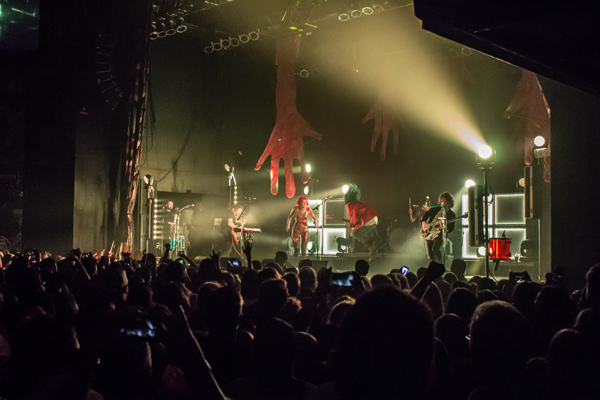 Grouplove plays in front of a sold-out crowd at the House of Blues Nov 15. Photo by David Sanchez/The Et Cetera