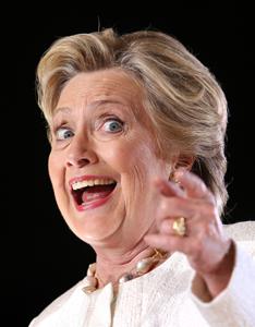 Democratic presidential candidate Hillary Clinton speaks at a campaign rally in Sanford, Fla., on Tuesday, Nov. 1, 2016. (Joe Burbank/Orlando Sentinel/TNS)
