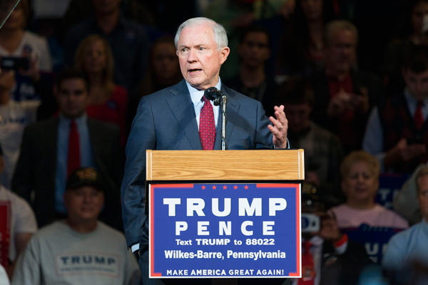 Trump taps Sessions for attorney general to tow immigration line