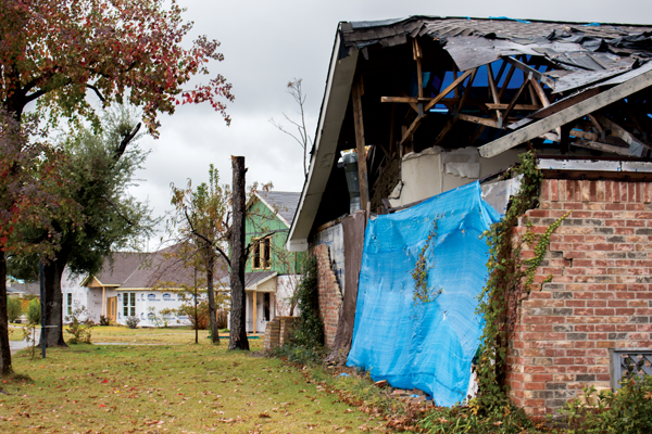 Recovery continues year after tornadoes