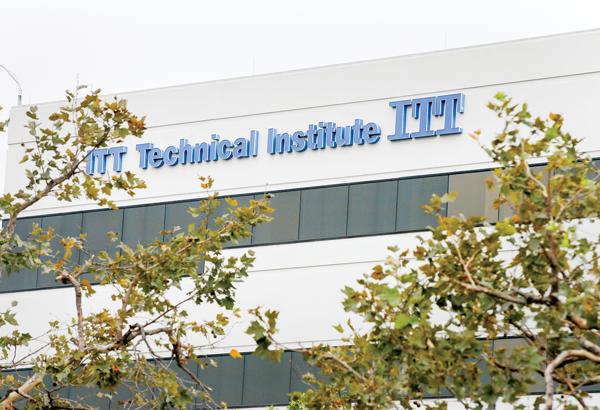 ITT Tech campus in Orange, California. LA Times/Tribune News Service