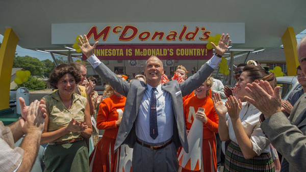 Michael Keaton stars as Ray Kroc, known as the founder of McDonald's. Courtesy of The Weinstein Company.