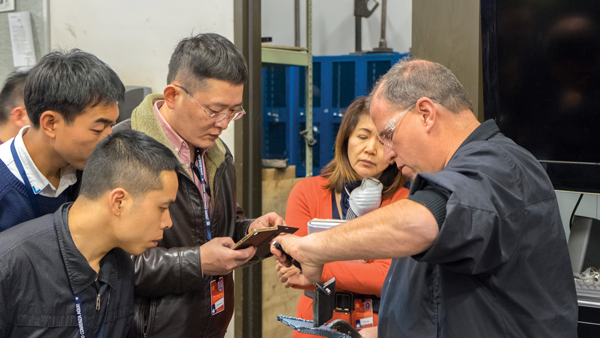 Chinese automotive instructors visit Eastfield