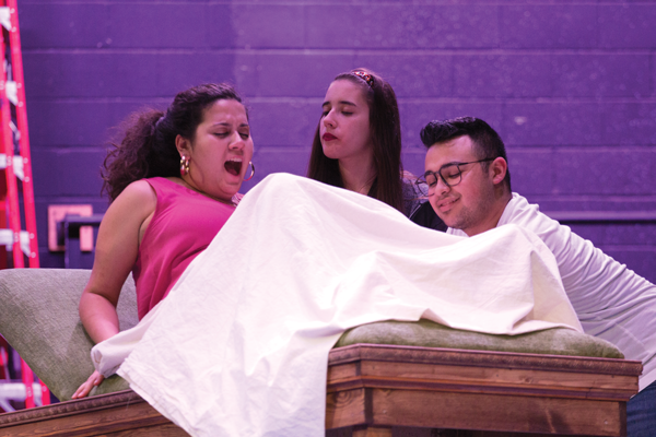 'Vibrator Play' creates buzz on campus
