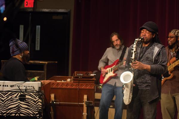 Sparks' performance transforms Eastfield to jazz club